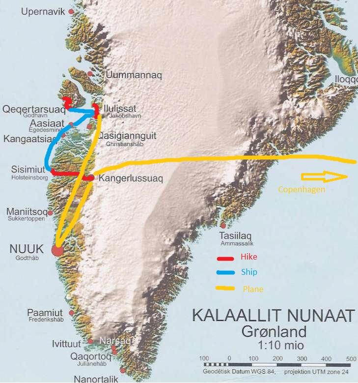 Grönland Greenland 2013